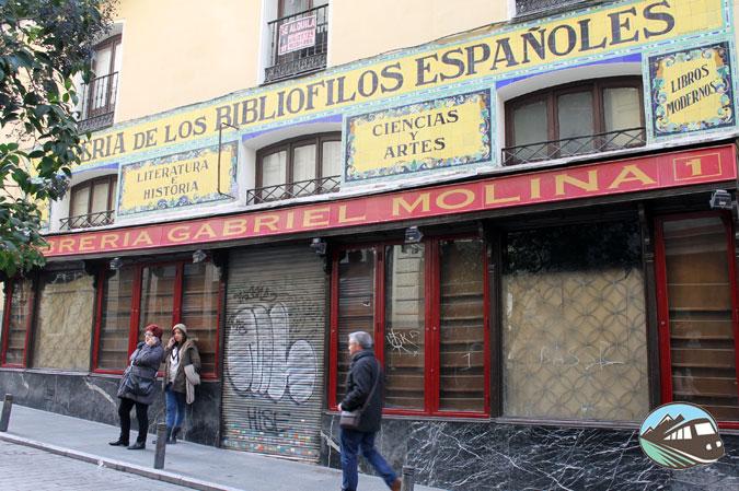 Librería de Gabriel Molina - Locales Centenarios de Madrid