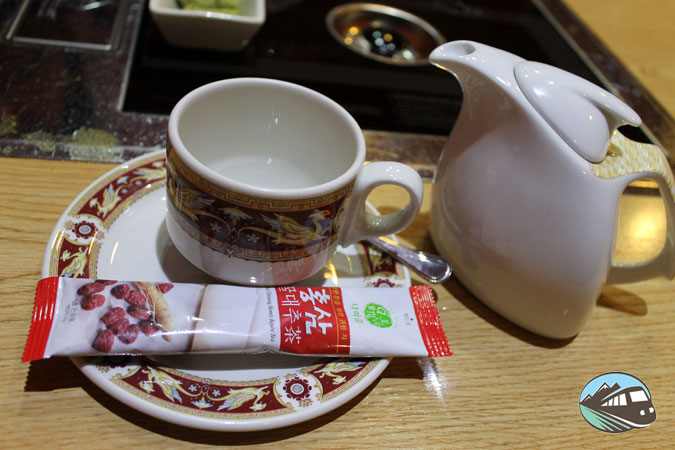 Té coreano - Restaurante Maru