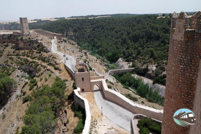 Vista desde el Castillo – Alarcón