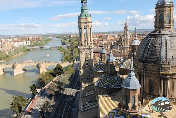 Subida a la Torre del Pilar – Zaragoza