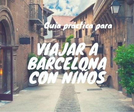 Guía de Barcelona con niños