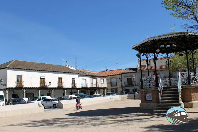 Plaza Mayor de Escalona