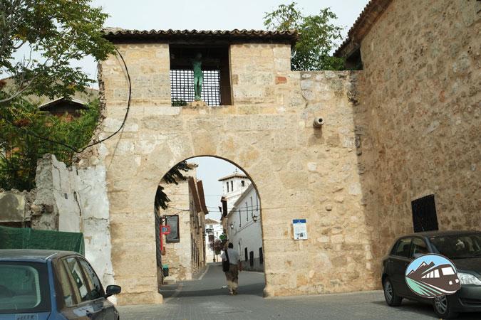 Puerta de la muralla - Belmonte