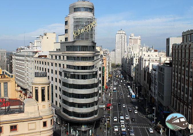 La Gran Vía - Madrid