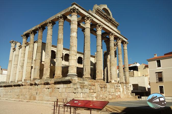 Templo de Diana – MéridaTemplo de Diana – Mérida