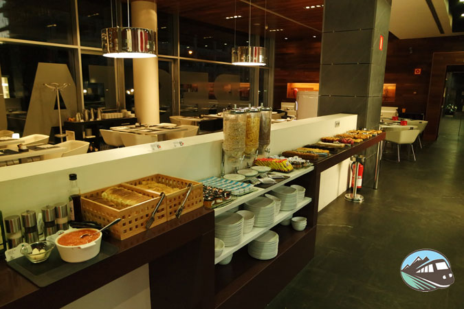 Desayuno - Hotel Ilunion Atrium