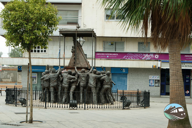 Monumento a la Virgen del Rocío - Huelva
