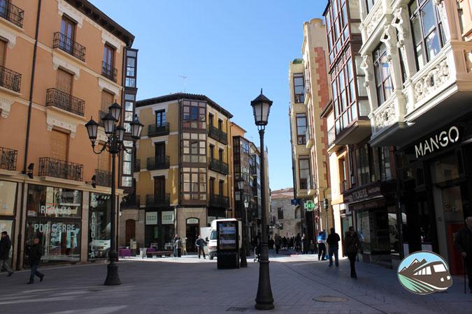 Calle Comercial de Zamora