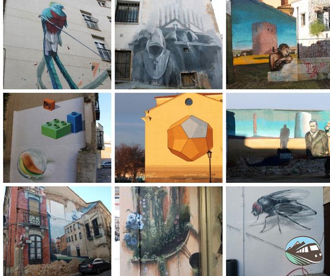 Graffitis en Zamora