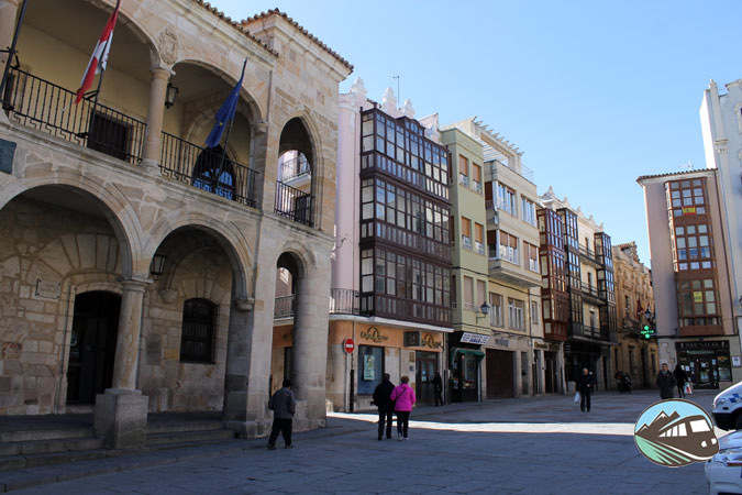 Plaza Mayor de Zamora