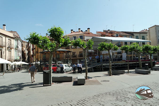 Plaza Mayor de Aranda de Duero