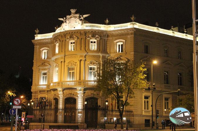Casa America nocturno - Madrid