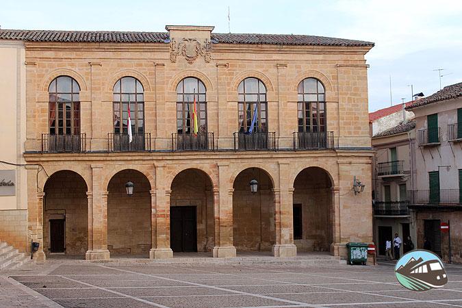 Plaza Mayor Alcaraz