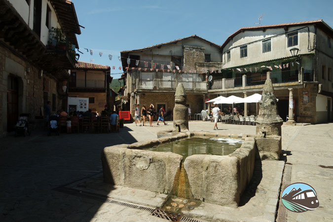 Plaza de San Martín del Castañar