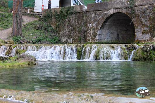 Pozas del arroyo