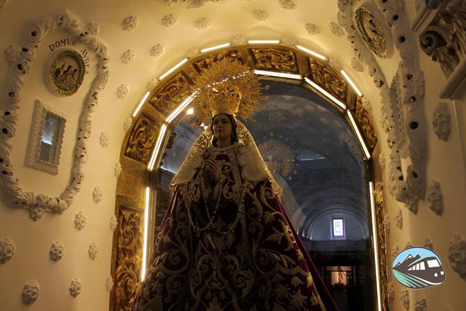 Camarín de la Virgen del Rosario - Alcázar de San Juan
