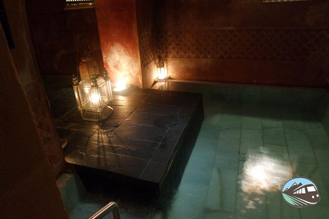 Baño templado - Hammam Al Ándalus