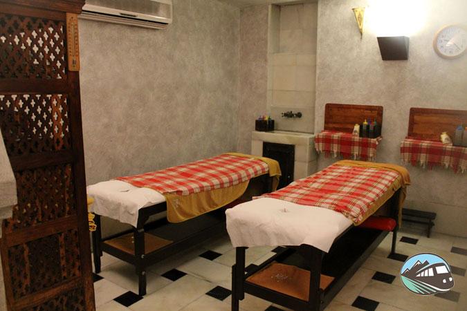 Sala de masajes – Hammam Al Ándalus