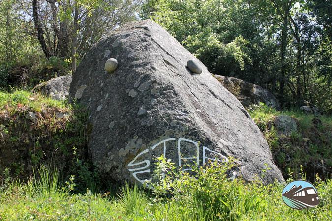Pez de piedra - Camino de los Prodigios