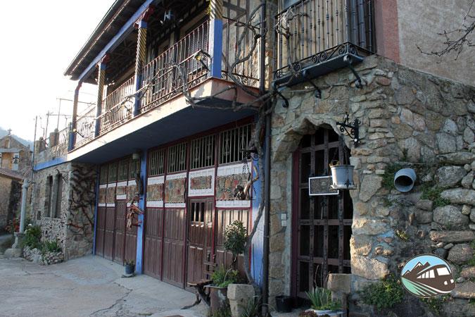 Fachadas de Las Casas del Conde