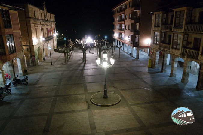 Plaza Mayor de Medina de Pomar
