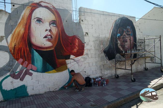 Murales de Arte Urbano – El Provencio