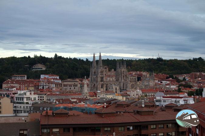 Balcón del hotel en Burgos