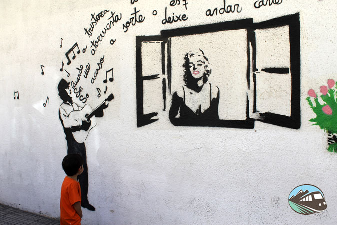Barrio del Oeste – Murales