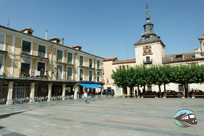 Plaza Mayor de El Burgo de Osma