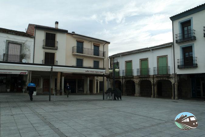 Plaza Mayor de El Barco de Ávila