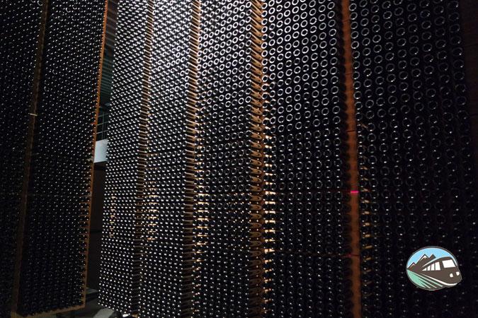 Almacén de botellas - Bodegas Portias