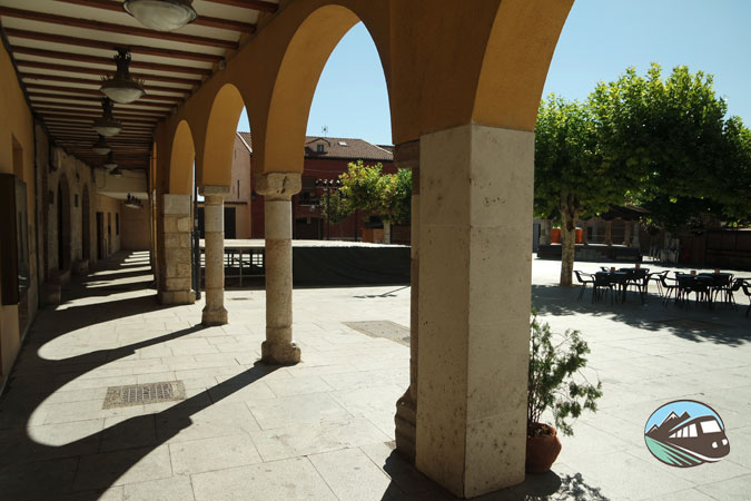 Plaza Mayor de Simancas