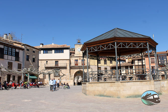Plaza Mayor de Poza de la Sal