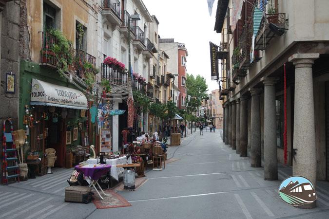 Calle Corredera del Cristo - Talavera de la Reina