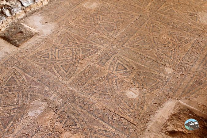 Mosaico - Villa romana de La Dehesa