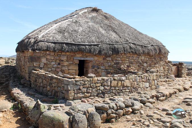 Casa celtibérica - Numancia