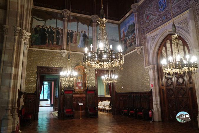 Interior del Palacio de Sobrellano – Comillas