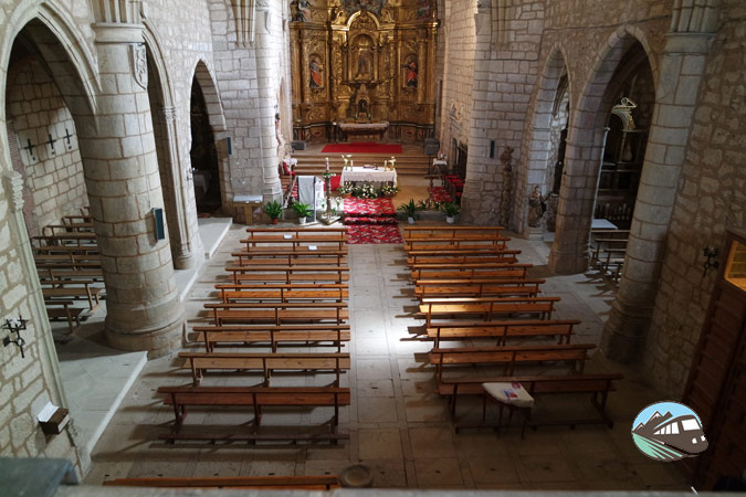 Interior de la iglesia parroquial – Morón de Almazán