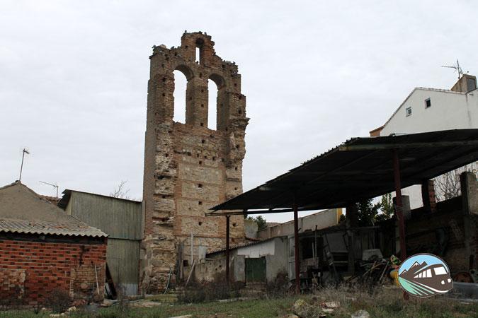 Espadaña de la iglesia de Santo Domingo - Maqueda
