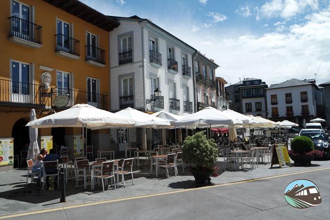 Plaza Mayor de Villafranca del Bierzo
