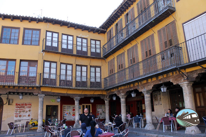 Plaza Mayor de Tordesillas