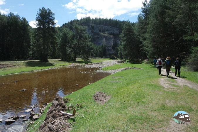 Inicio de la ruta - Cañón del río Lobos