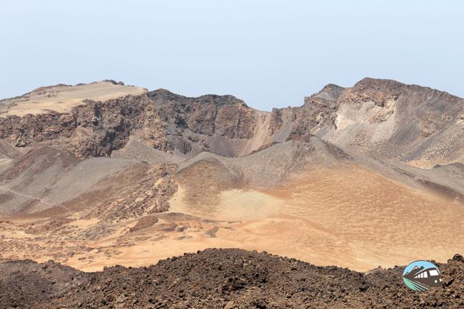 Cráter de Pico Viejo desde el Teide