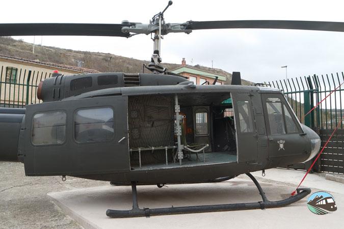 Helicóptero de huida - Belorado