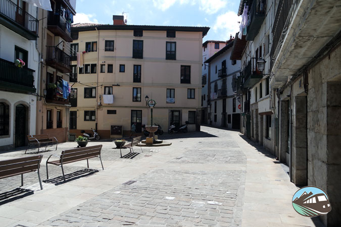 Plaza Arranegiko Zabala - Lekeitio