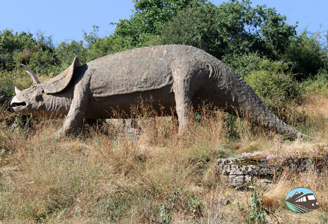 Triceratops - Ruta de las Icnitas