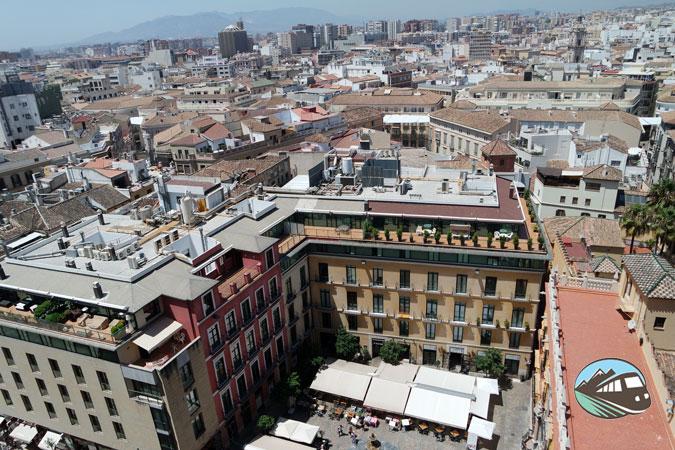 Cubierta de la Catedral de Málaga