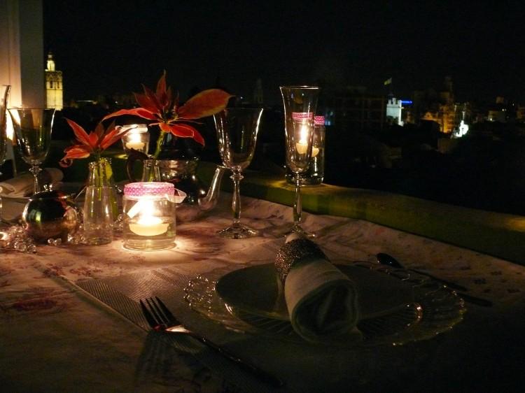 Mesa para dos san valentin