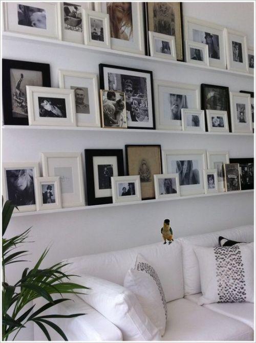 cuadros sobre sofa
