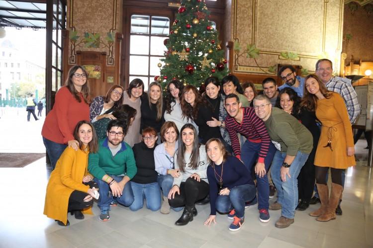 Grupo de bloggers y Leroy Merlin